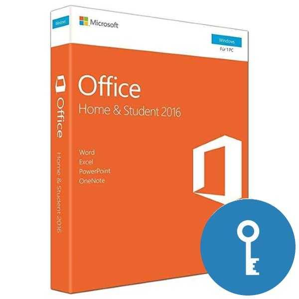 Office 2016 Home&Student FPP 32/64 эл ключ (79G-04288)