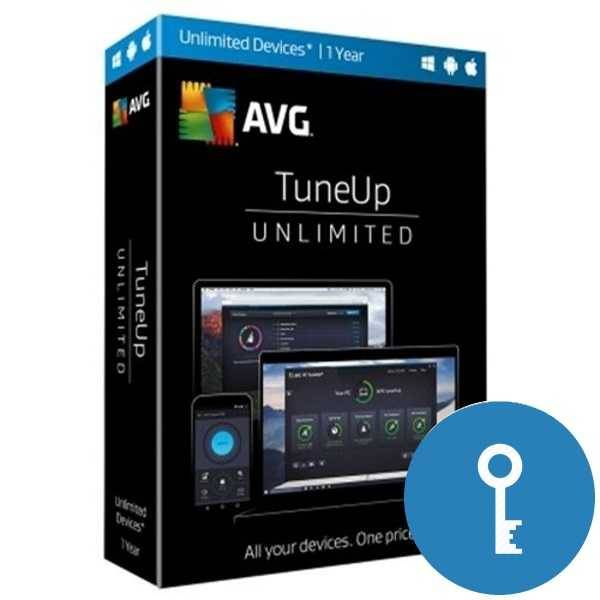 AVG PC Tune up  1 год/ неогранич кол-во устройств