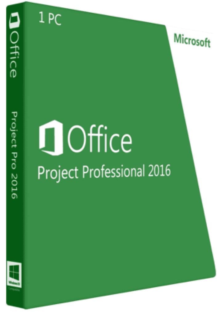 MS Project 2016 Professional - купить в интернет-магазине Softmonstr.ru